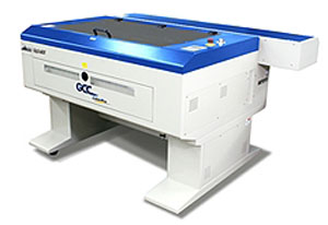 GCC LaserPro MG380 Hybrid lézeres gravírozó és vágógép